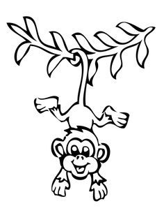 236x305 The 25+ best Monkey drawing easy ideas on Pinterest Small easy