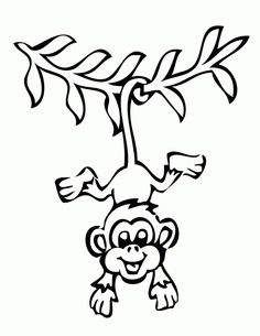 236x305 Hanging monkey template