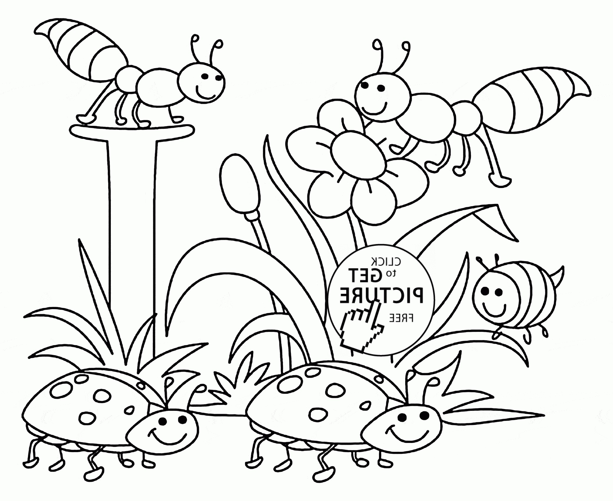 2080x1700 Palma And Monkey Nature Coloring Page For Kids Awesome Nature