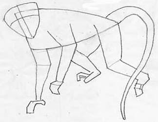 324x250 How To Draw A Monkey