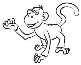 285x228 How To Draw A Monkey Howstuffworks