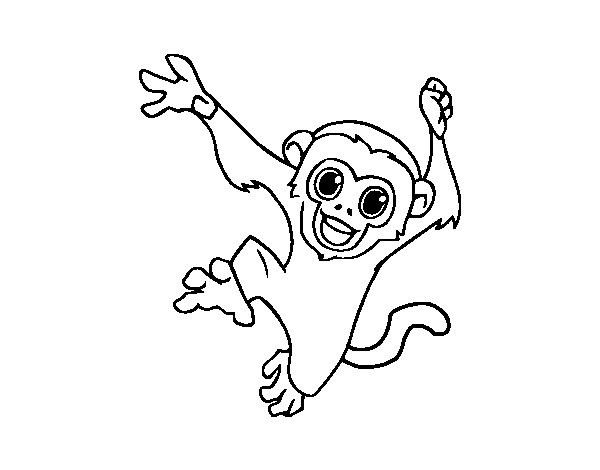 600x470 Collection Of Monkey Tattoo Drawings