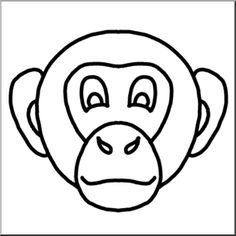 Monkey Face Drawing At Getdrawings Com Free For Personal Use