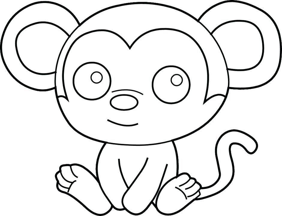 940x720 Spider Monkey Coloring Pages Col Pages Pages Spider Monkey Mammals