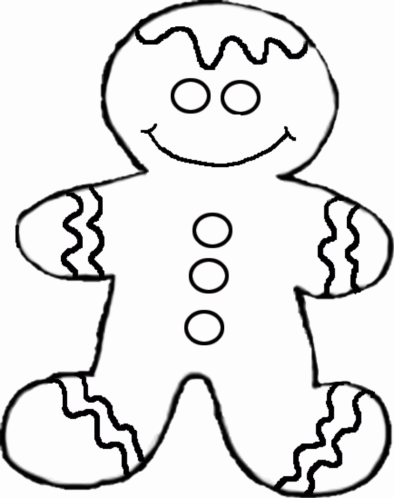 810x1024 50 New Image Of Gingerbread Coloring Pages