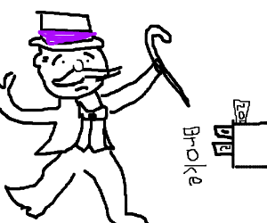 300x250 But Monopoly Man Is Losing