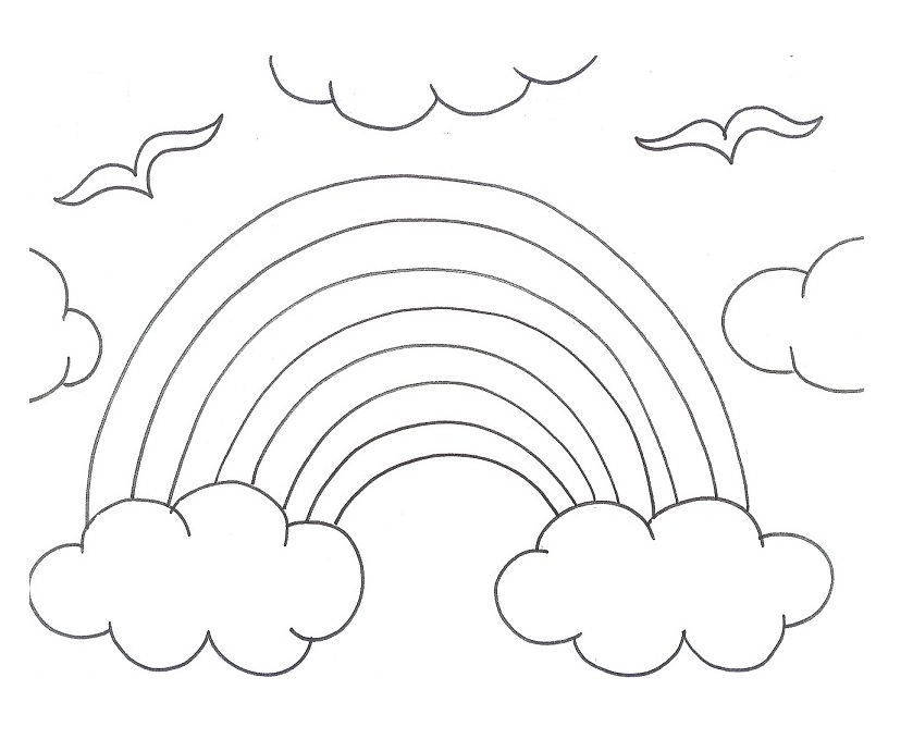 839x679 Rainy Season Coloring Pages Free Coloring Pages