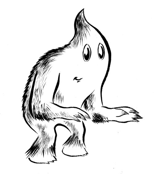 500x567 Draw A Monster. Write A Plausible Backstory For The Monster That