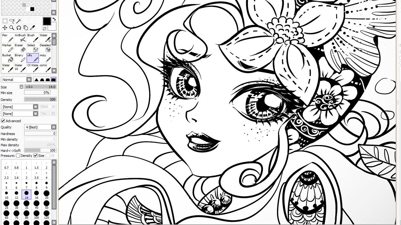 1280x720 Drawing Lagoona Monster High