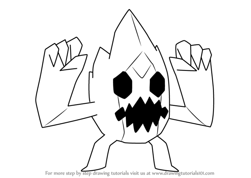 800x567 Learn How To Draw Ice Monster From Steven Universe (Steven