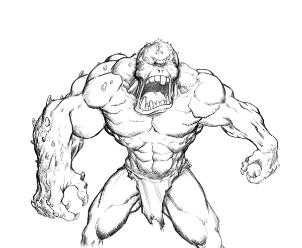 600x493 Monster Monday Volume 2 Sketch 12 By Comicbookist