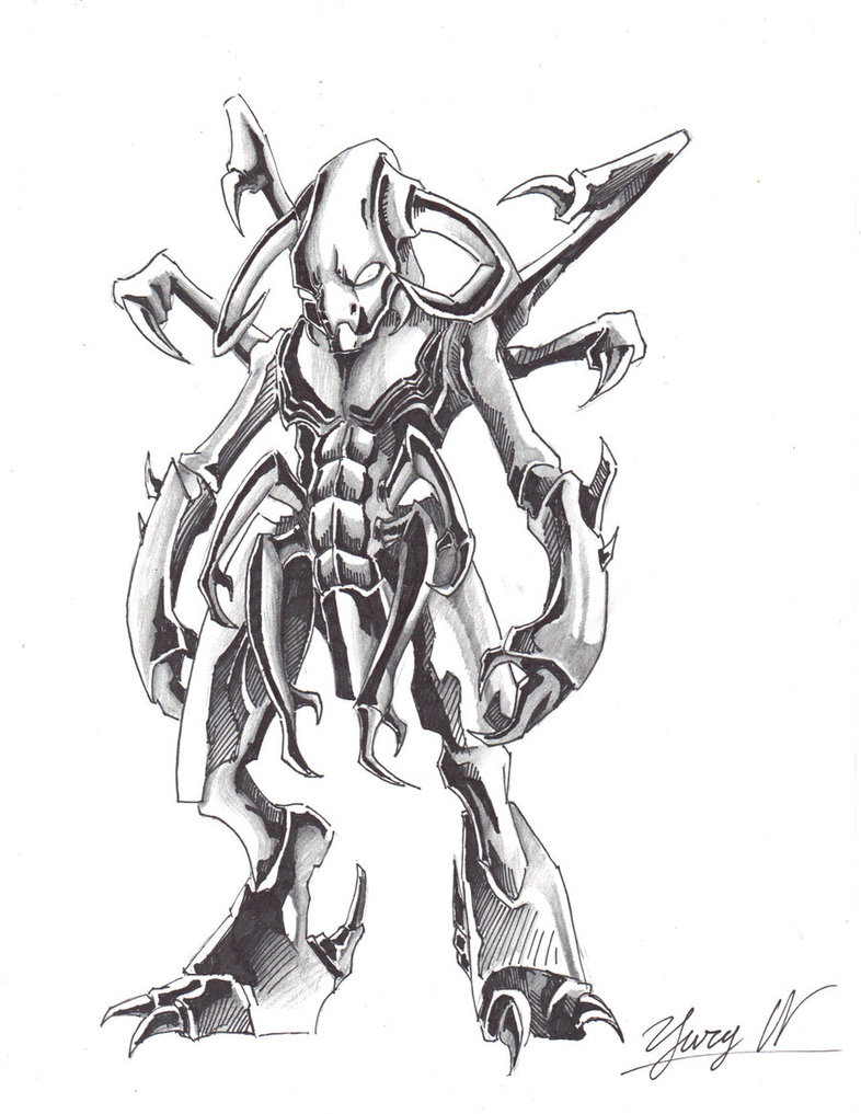 786x1017 Demonic Monster By Alphalifeform