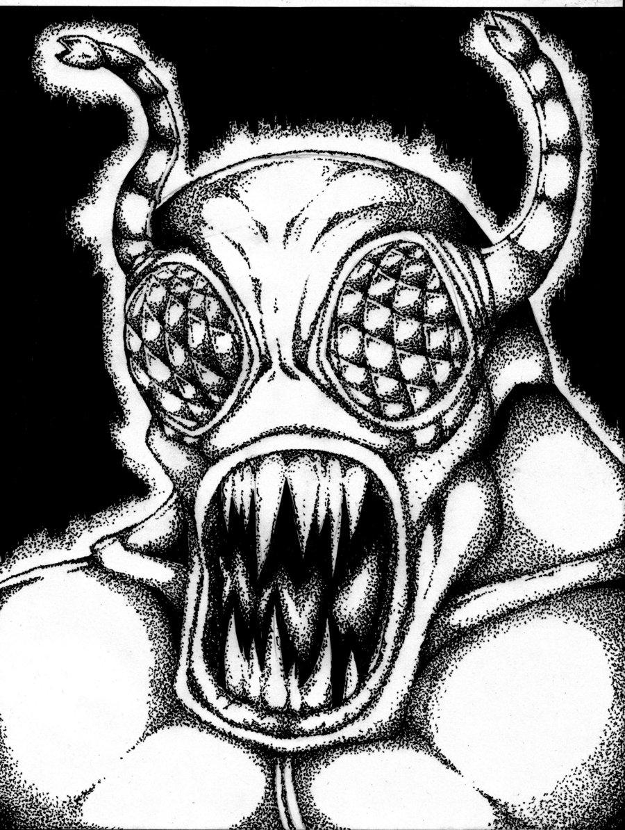 900x1194 Bug Monster