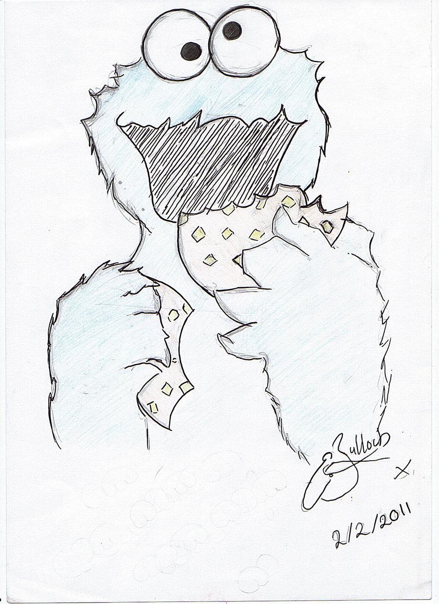 900x1239 Cookie Monster Drawing Cookie Monsternaminemidnight