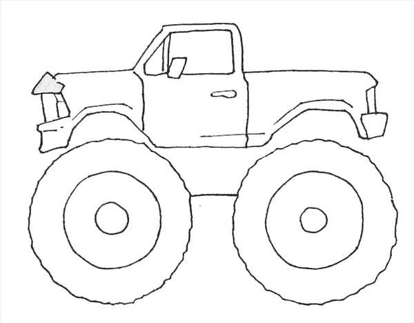 600x468 How To Draw Monster Trucks Monster Trucks, Monsters And Birthdays