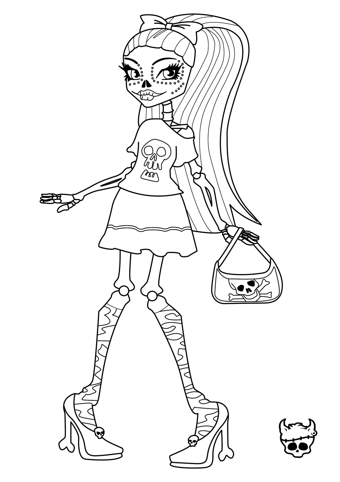 1131x1600 Monster High Drawing Book