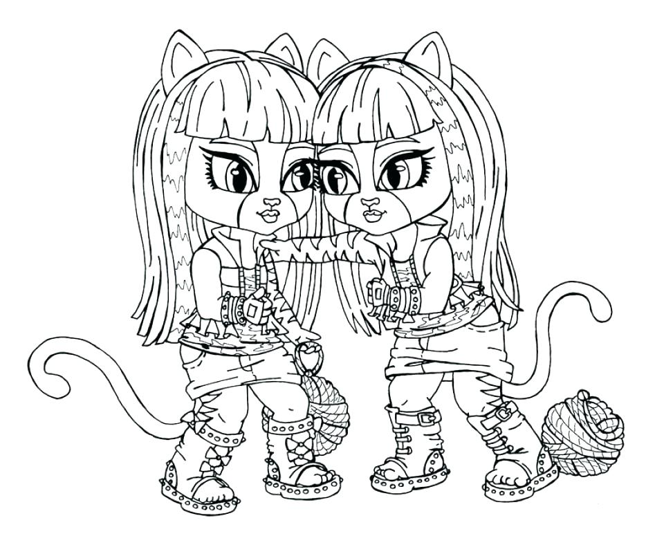 960x788 Monster High Printable Coloring Pages