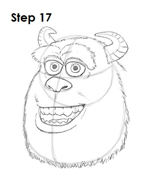300x388 How To Draw Sulley