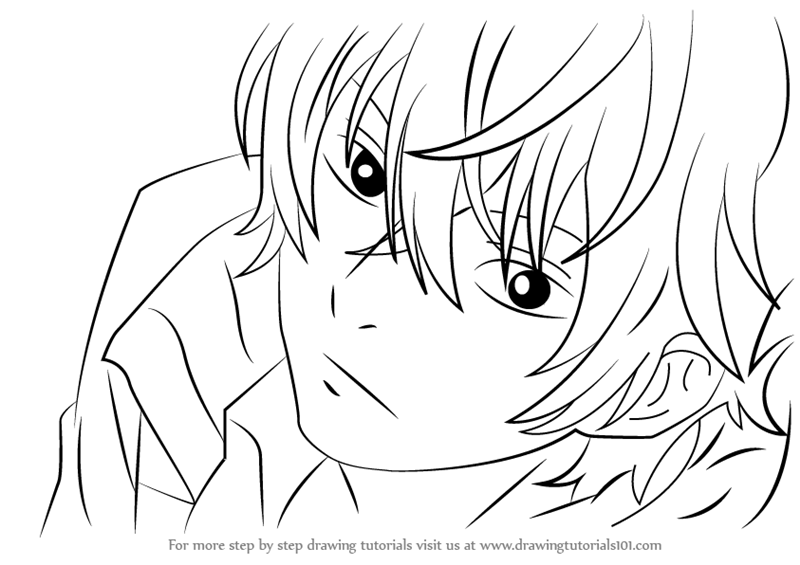 800x565 Learn How To Draw Haru Yoshida Face From My Little Monster (My
