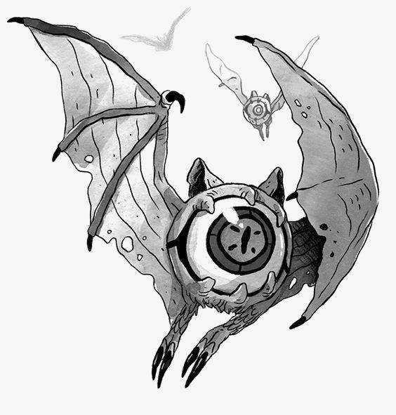 564x591 Sketch Monster, Eyes Monster, Hand Painted Monster, Cartoon