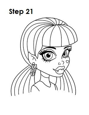 300x388 How To Draw Draculaura