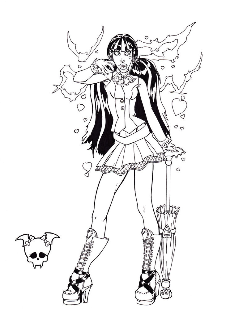 786x1017 Monster High Draculaura By Shinmusashi44