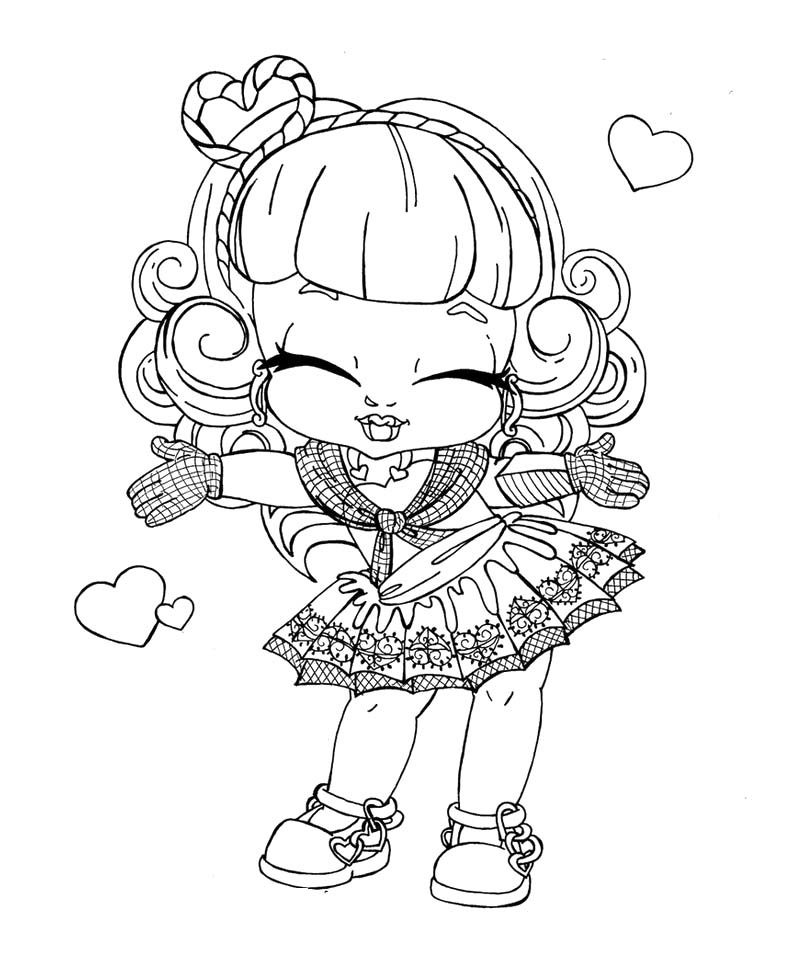 Monster High Drawing at GetDrawings.com | Free for personal use ...