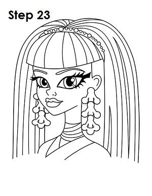 300x388 How To Draw Cleo De Nile
