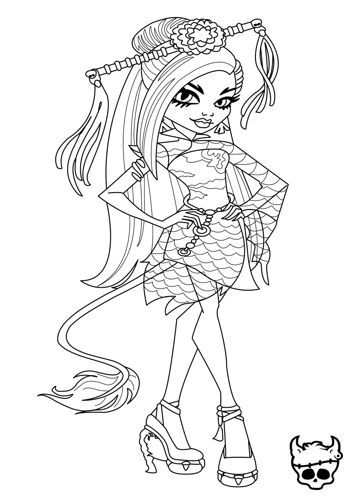 Monster High Clawdeen Ausmalbilder : Monster High Drawing Games At Getdrawings Com Free For Personal