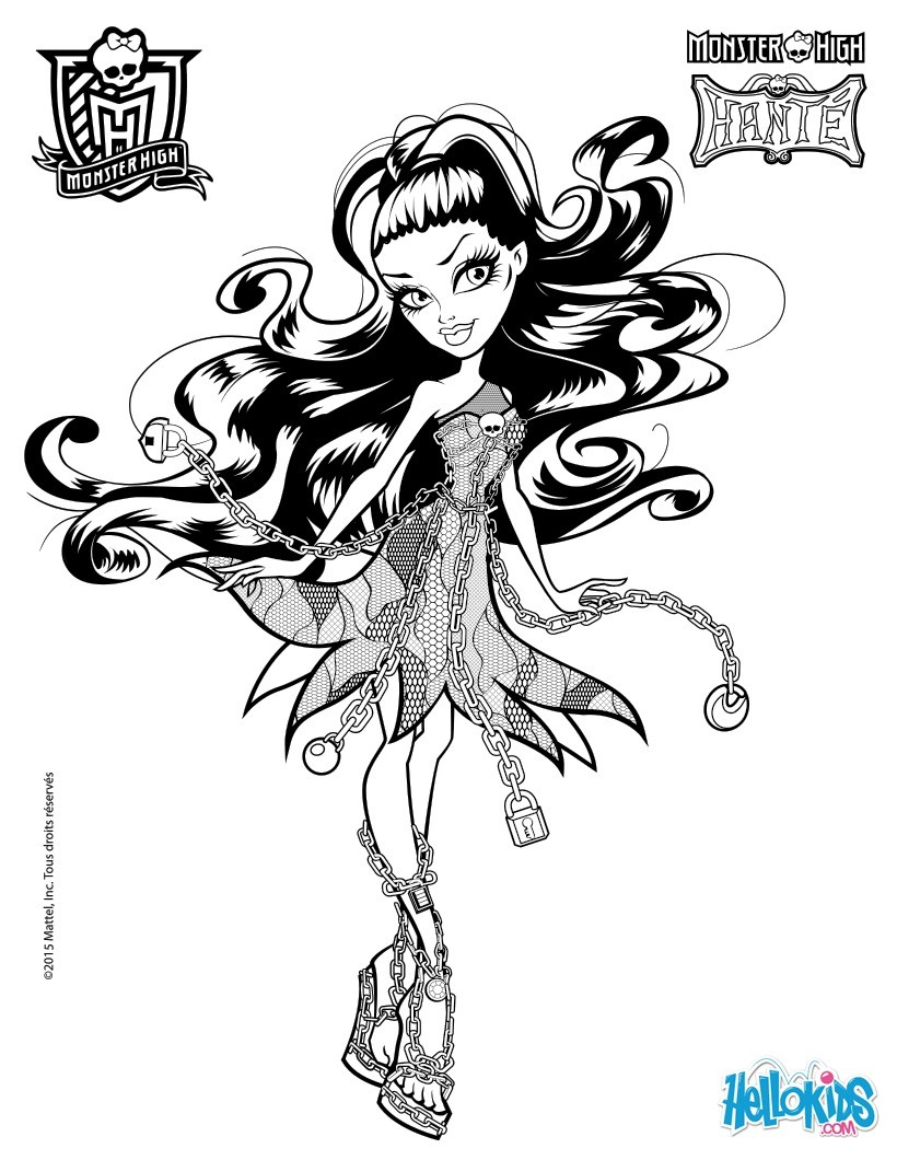 Ausmalbilder Monster High Boo York : Monster High Drawing Games At Getdrawings Com Free For Personal
