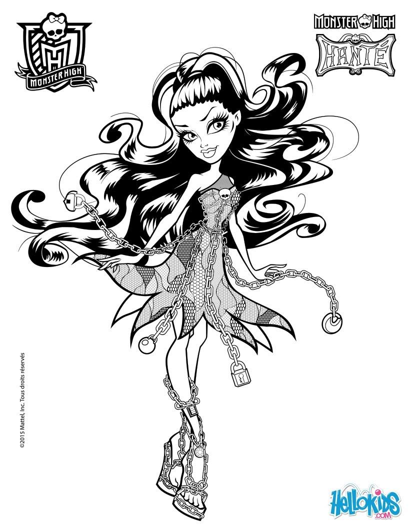 Ausmalbilder Monster High 13 Wünsche : Tolle Malvorlagen Von Monster High 13 W Nsche Fotos Beispiel