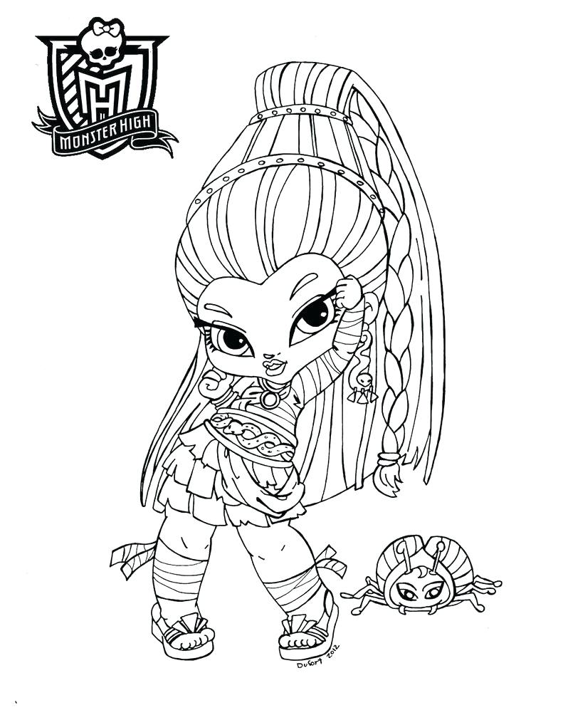 Monster High Drawing Games At Getdrawings Com Free For Personal