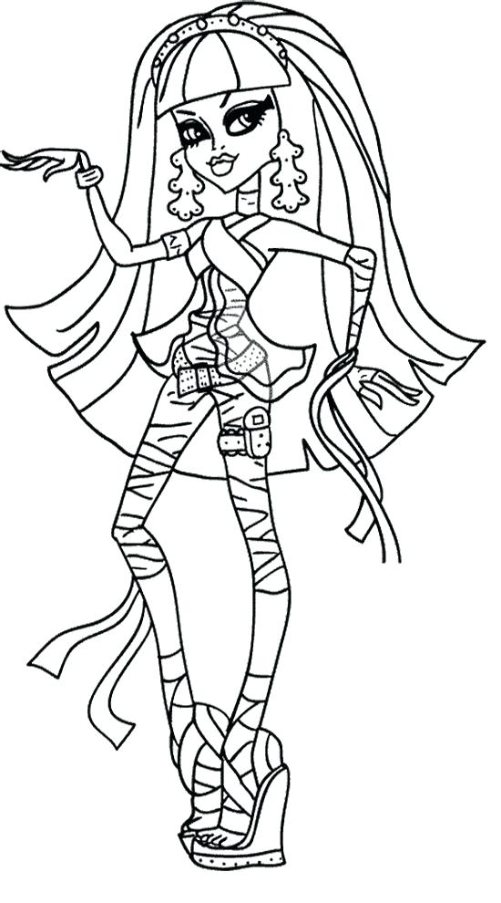 monster high coloring pages games - monster high drawing games at free for