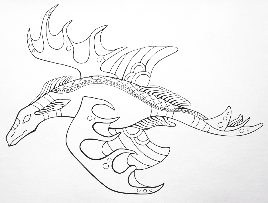 940x712 Drawing Monsters And Creatures Monsters And Creatures