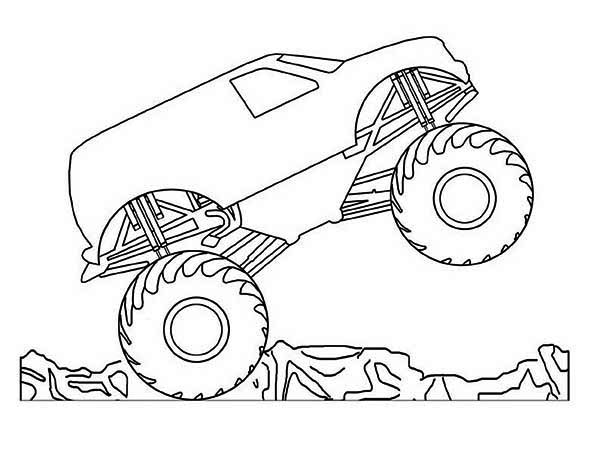600x464 Coloring Pages Draw A Monster Truck Bull Page For Coloring Pages