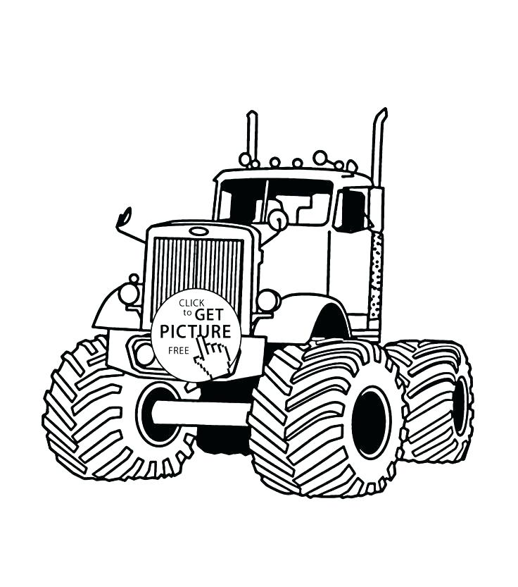 736x833 Free Monster Truck Coloring Pages Synthesis.site