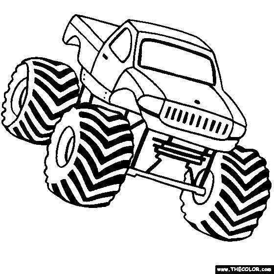 560x560 Best Monster Truck Drawing Ideas On Monster Truck