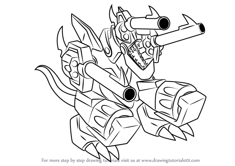 800x567 Learn How To Draw Barrel Dragon From Yu Gi Oh! Duel Monsters (Yu