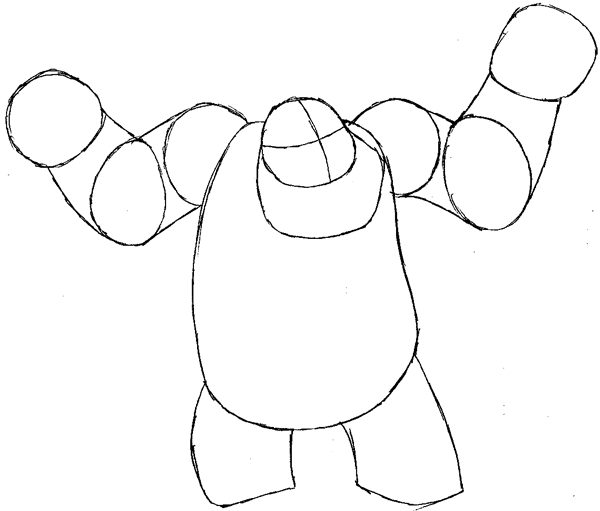600x511 How To Draw Sulley From Monsters Inc. With Easy Step By Step