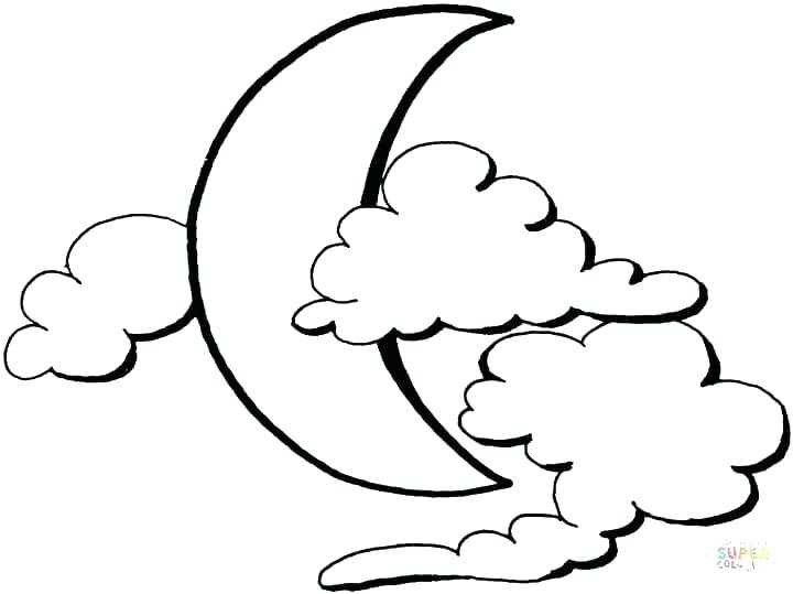 720x539 Cloud Coloring Pages Best Collection Coloring Pages