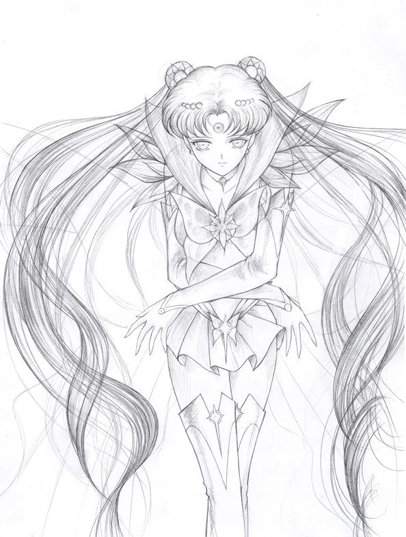 594x785 Fanart Sailor Moon By Spaceweaver