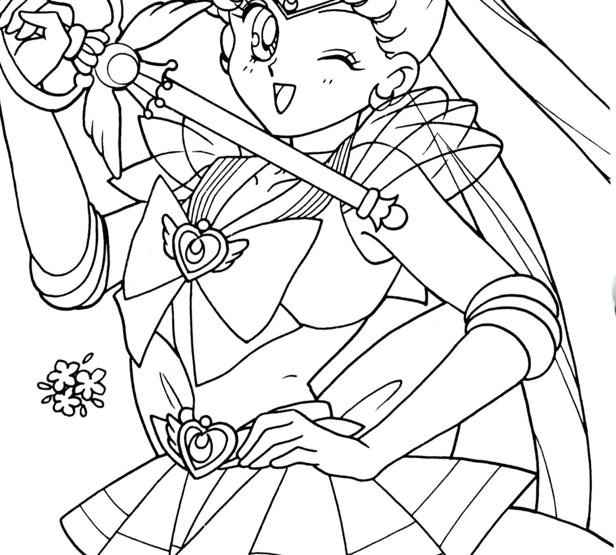 1200x1080 Coloring Sailor Mars Coloring Pages Fire Ink By Moon. Sailor Mars