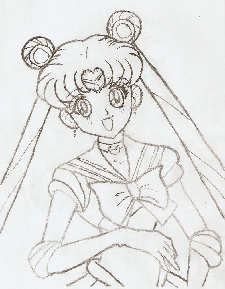 789x1012 Sailor Moon Pencil Art By Yukahime