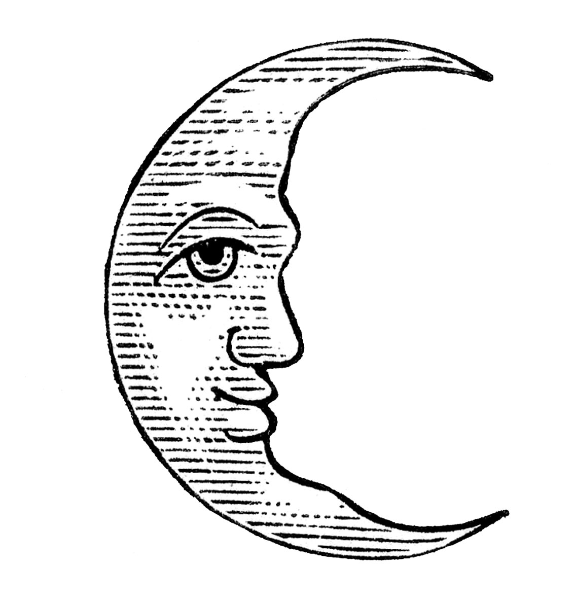Moon Drawing Pictures