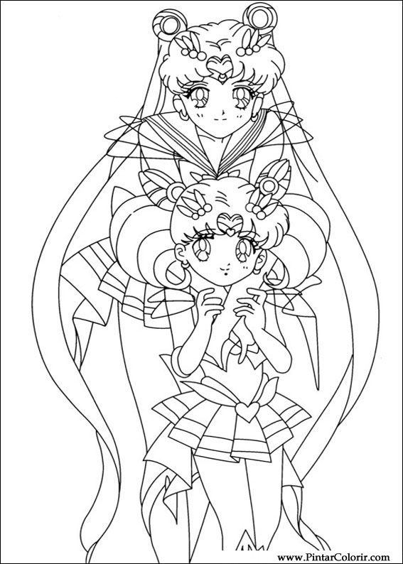 567x794 Drawings To Paint Amp Colour Sailor Moon