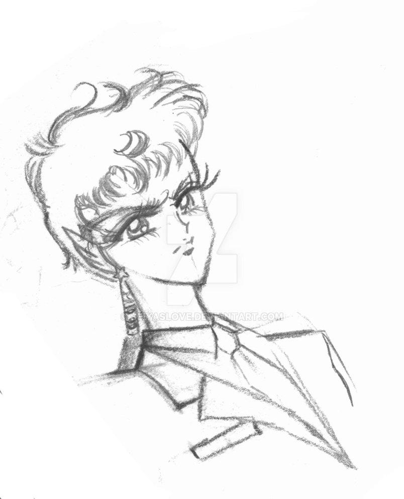804x993 Practice Drawing Kou Seiya From Sailor Moon By Seiyaslove
