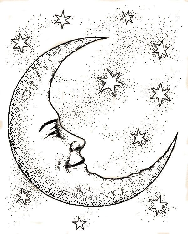 600x746 The Best Moon Face Ideas On Moon With Face