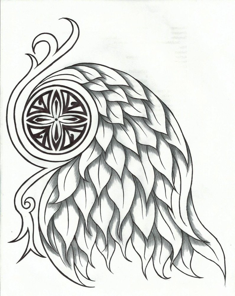 795x1004 Moon Goddess Tribal Tattoo Design 2 By Chrismetalfreak