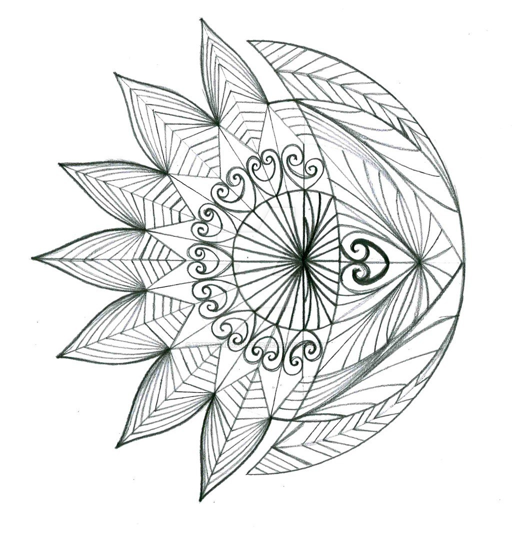 1024x1081 Creative Sun And Moon Tattoo Ideas Asean People