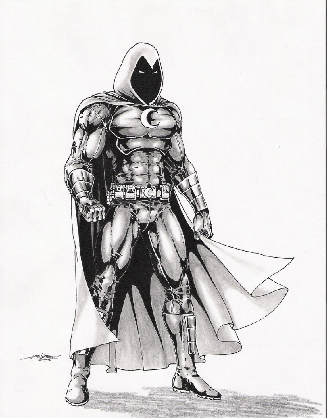 1096x1400 Ultimate Moonknight By Vassago